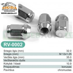 Rato veržlė RV-0002
