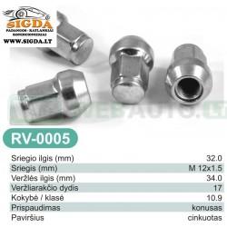 Rato veržlė RV-0005