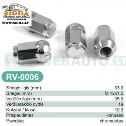 Rato veržlė RV-0006