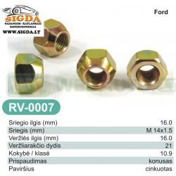 Rato veržlė RV-0007
