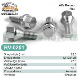 Rato varžtas RV-0201