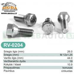 Rato varžtas RV-0204
