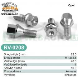 Rato varžtas RV-0208