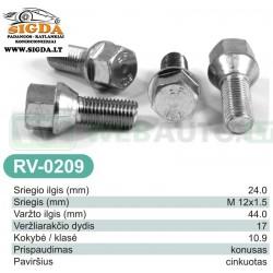 Rato varžtas RV-0209
