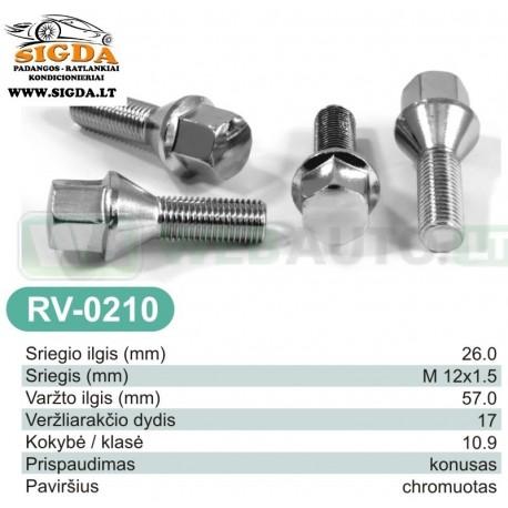 Rato varžtas RV-0210