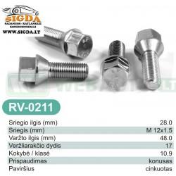 Rato varžtas RV-0211