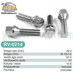 Rato varžtas RV-0214