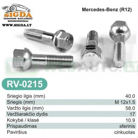 Rato varžtas RV-0215