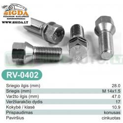 Rato varžtas RV-0402