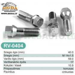 Rato varžtas RV-0404